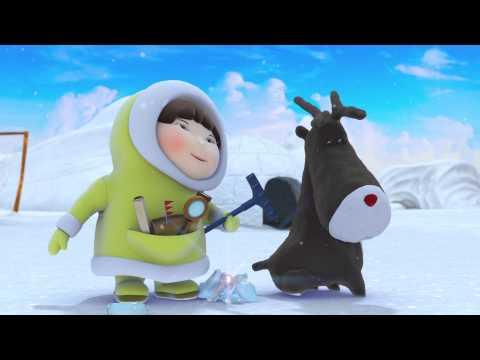 Eskimáčka séria 2. 7 - Plážové hračky