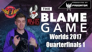 THE BLAME GAME | Worlds 2017 Quarterfinals 1: Korean Clash & The Best West Series vs. Korea