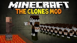 Minecraft: CLONES MOD! Make Your Own Clone Army! (My