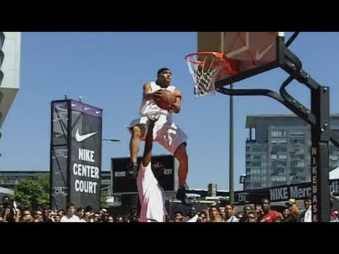 Team Flight Brothers Shows you 19 Dunks that the NBA has NEVER done in the Dunk Contest