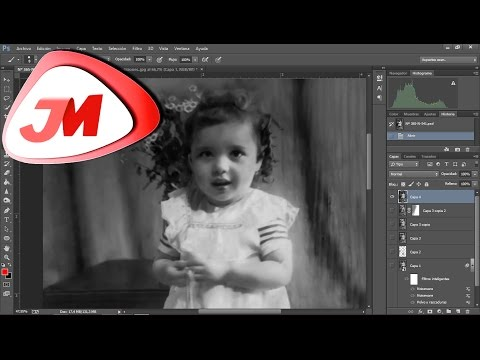Restaurar Foto con Photoshop / Tutorial Fácil / Parte 2/2