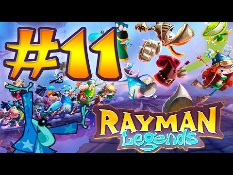 Rayman Legends #11 - ALDEN, el mago del reino - Guía al 100% HD