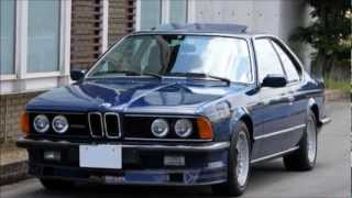 '85 アルピナB9 3.5 クーペ (BMW E24) Highway Star GARAGE BMW ALPINA B9