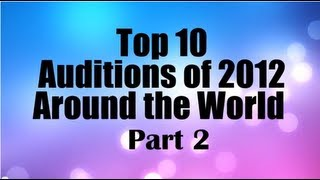 Top 10 Best First Auditions X Factor / Got Talent (USA UK