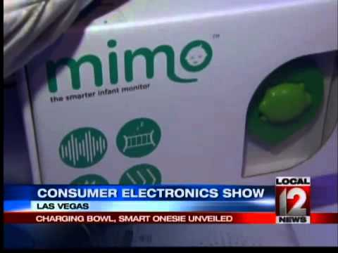 Charging bowl, smart onesie and Lamborghini at Consumer Electronics Show