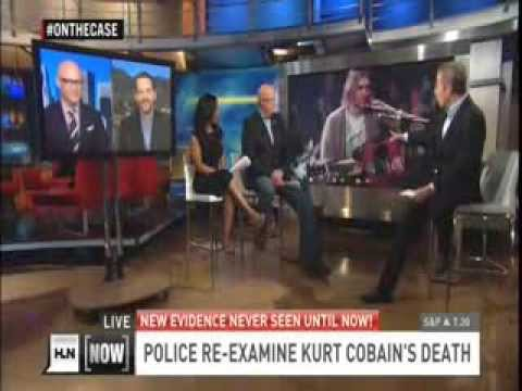 HLN Tanya Miller on Re-Examination of Kurt Cobain Case 3/21/14