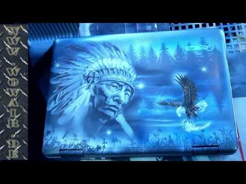 No.068  Airbrush by Wow Laptop Chief HD 1080.mp4