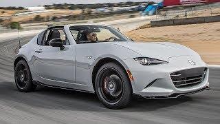 2017 Mazda MX-5 Miata RF Club Hot Lap! - 2017 Best Driver's Car Contender. MotorTrend.