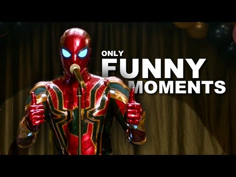 Spider-Man Far From Home but only the funny parts