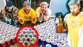 DISGUSTING DRINKS PONG! (BAD IDEA)