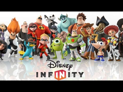 Disney Infinity - Reveal Trailer (Wii/WiiU/PS3/X360/3DS) [HD]