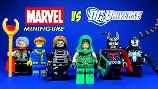 LEGO DC Superheroes Vs Marvel KnockOff Minifigures Set 6