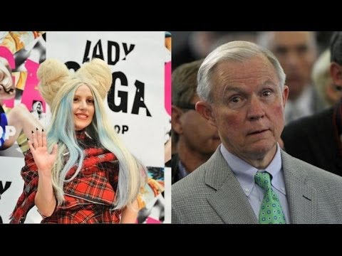Senator Sessions Is Anti Weed Because Of Lady Gaga - Political Maniacs