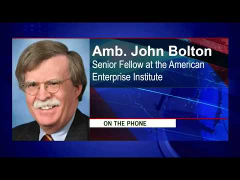 John Bolton --Former US Ambassador to the UN and Senior Fellow at the American Enterprise Institute