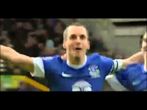 Leon Osman Amazing Goal vs Manchester City