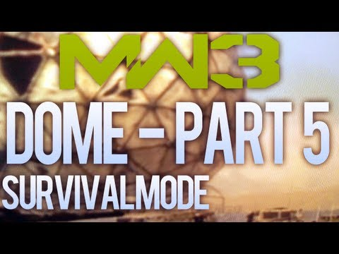 Modern Warfare 3 Solo Survival - Faggy Claymores on Dome - Part 5