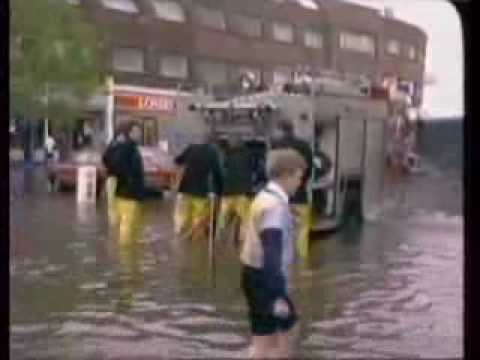 Floods - London - Weather - 1988