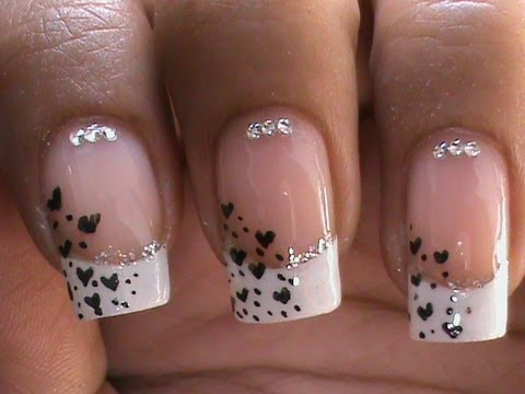 French Manicure Nail Art Designs How To With Nail designs and Art Design Nail Art About Nails, Nail Art website- http://www.superwowchannels.com/ nail art on Google Plus - https://plus.google.com/u/0/b/102731680643679173681/102731680643679173681/posts ...