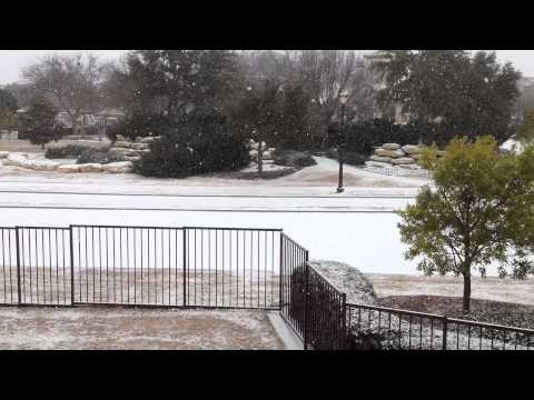 Feb 6th 2014 DFW TX Snow