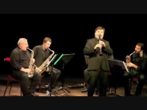 Corrado Giuffredi Clarinet solo & saxofollia project LIVE