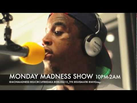 MONDAY MADNESS SHOW w/ DJ CIRCUITBREAKA FEAT REED DOLLAZ FREESTYLE