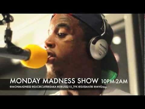 MONDAY MADNESS SHOW w/ DJ CIRCUITBREAKA FEAT REED DOLLAZ FREESTYLE