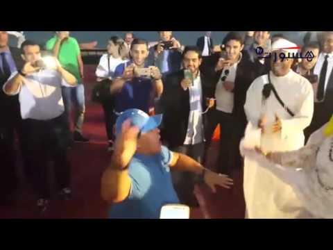 بالفيديو مارادونا يرقص أحيدوس