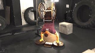 Wheelchair CrossFit Tabata- Zack Ruhl (Part 1)