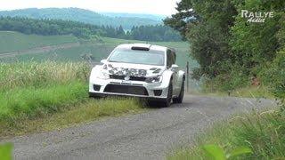 Vidéo Tests Day Volkswagen - Deutschland Rally 2013 - Sébastien Ogier [HD]