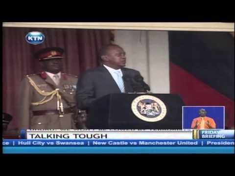 President Kenyatta promises hightened vigilance on suspected terrorists