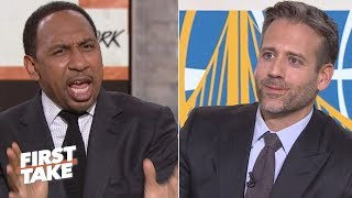 Stephen A. torches Max for saying Durant is not a top 5 NBA player   First Take