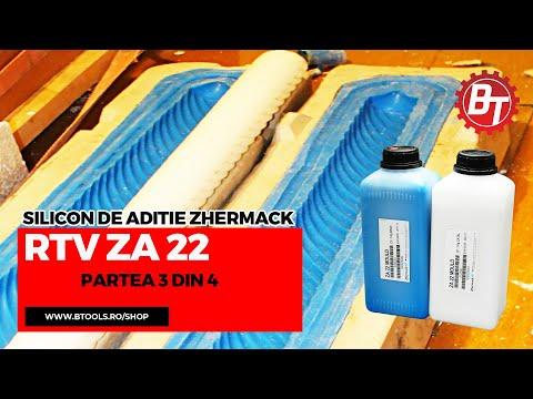 Realizare matrita flexibila din silicon RTV-ZA22-Lumanare de botez - Partea 3 din 4