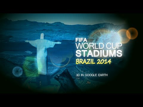 FIFA World Cup Stadiums Brazil 2014 in 3D