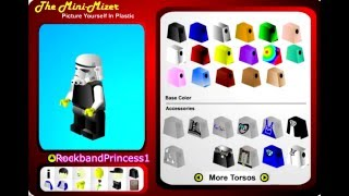 Lego Mini-Mizer Game Lego Games To Play Online