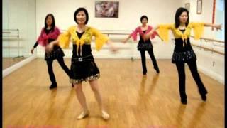 Ai Qing Cha Cha (愛情恰恰) Line Dance (Feb 2012)