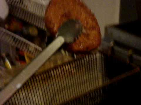 Deep Fried Hamburger