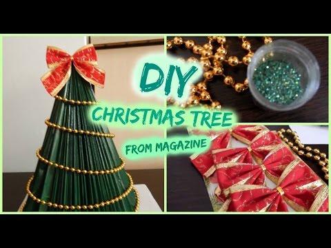 Како Ангела Игновска си направи необична и прекрасна новогодишна елка?