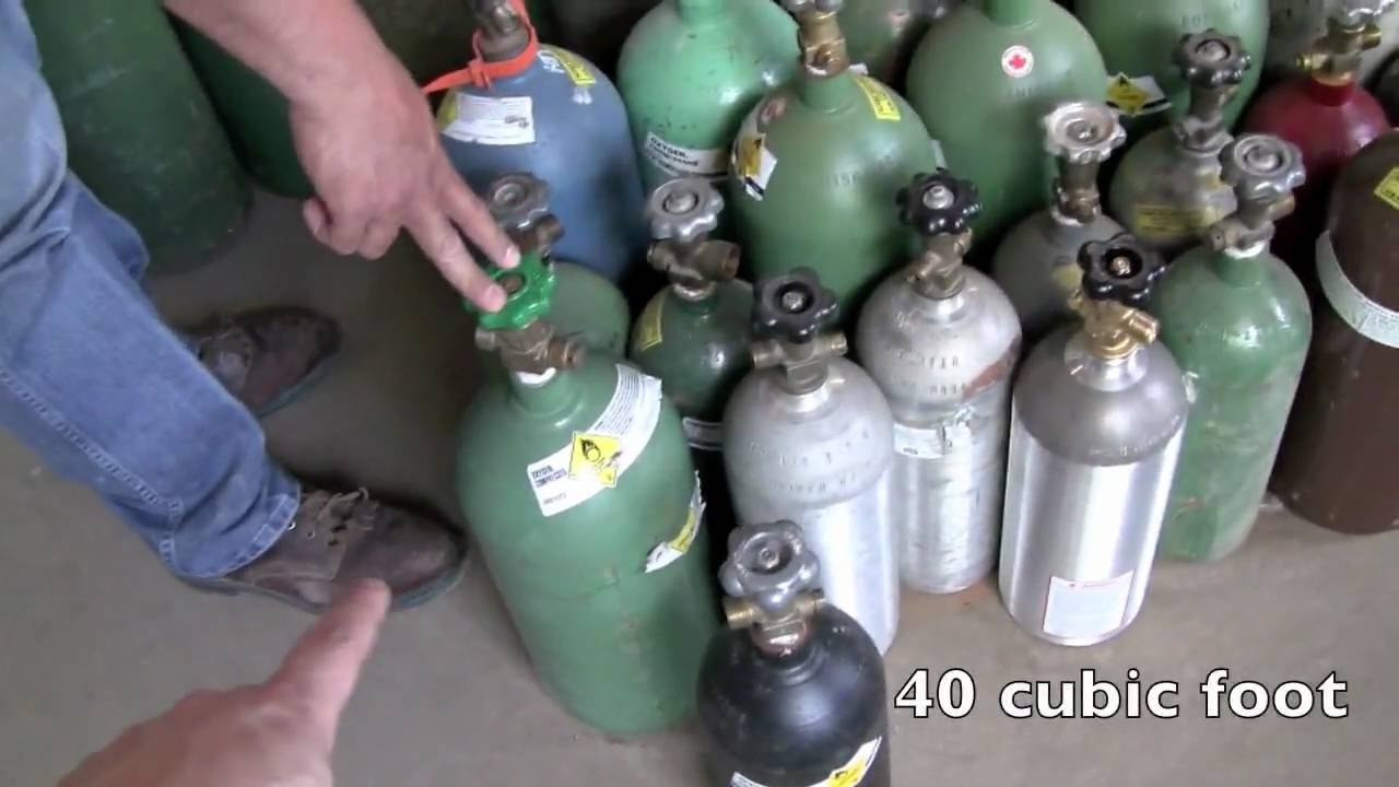 Welding Gas: Mig Welding Gas Bottles