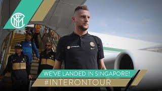 WE'VE LANDED IN SINGAPORE! | #INTERONTOUR | INTER PRE-SEASON 2019/20 ⚫???