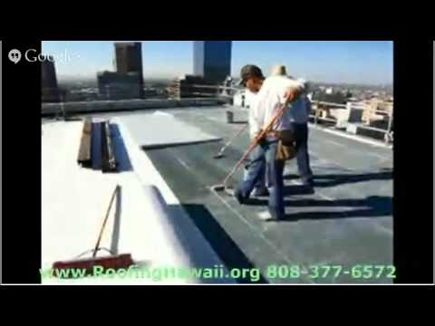 Built Up Roofing Hawaii Call Today  808 3776572 Built Up Roofing Hawaii