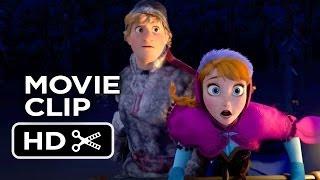 Frozen Movie CLIP Wolf Chase (2013) Kristen Bell