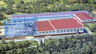 Euromac coordinate punch press and Salvagnini S4 + P4 line with warehouse at the site of NPO-Voyage
