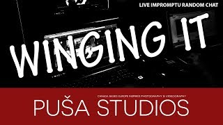 Puša Studios Winging It Live: Morning Coffee With You All