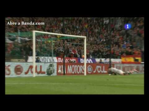 Gol de Jesus Navas España 1 - 0 Corea Partido amistoso