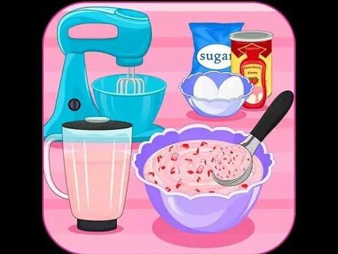 Làm bánh sandwich dâu kem - Trò chơi dành cho trẻ em