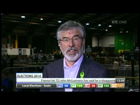 Gerry Adams - Local Elections 2014