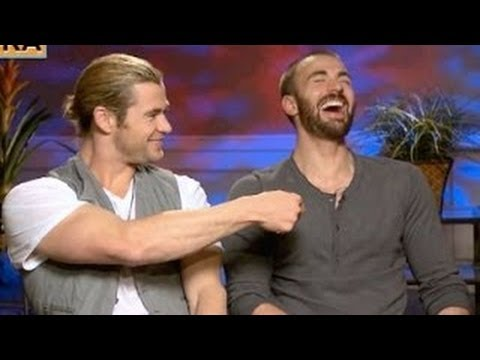 Chris Hemsworth & Chris Evans Funny Moments