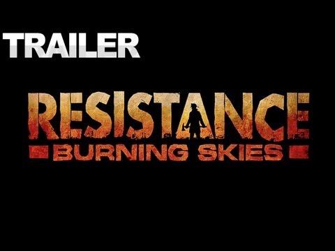 Resistance - Burning Skies Trailer