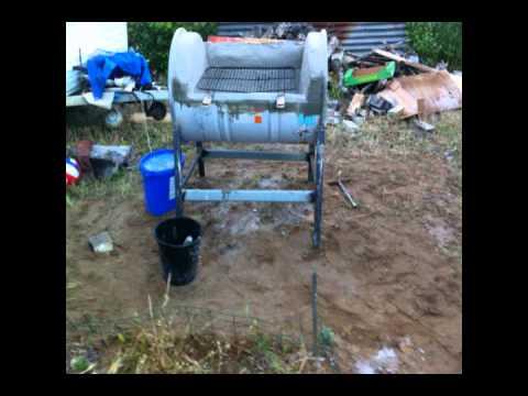 Fabriquer un barbecue pour pas cher et peu de materiel for Fabriquer un barbecue pas cher