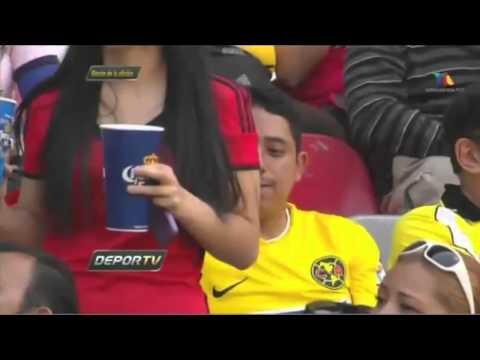 El Color en America vs Veracruz Jornada 12 Clausura 2014 Tv Azteca 22 Marzo 2014